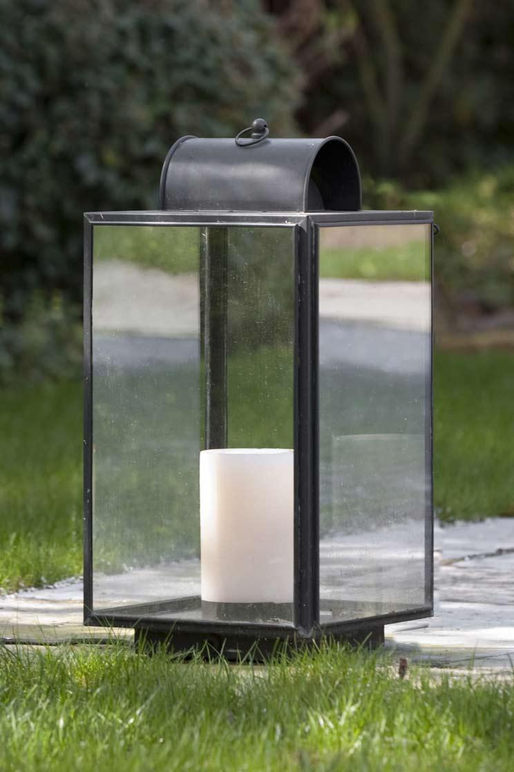 Penrose lampe de jardin bougie nautic by tekna for Luminaire pour jardin