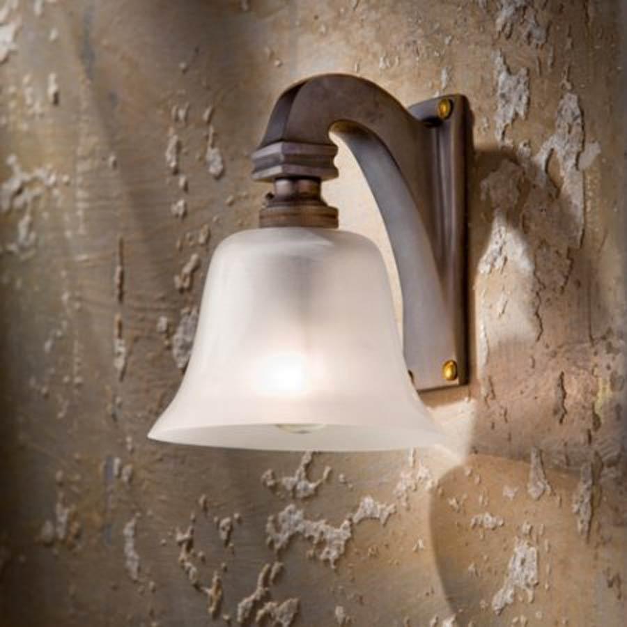 Bell Light 12 V applique bronze antique. Nautic by Tekna.