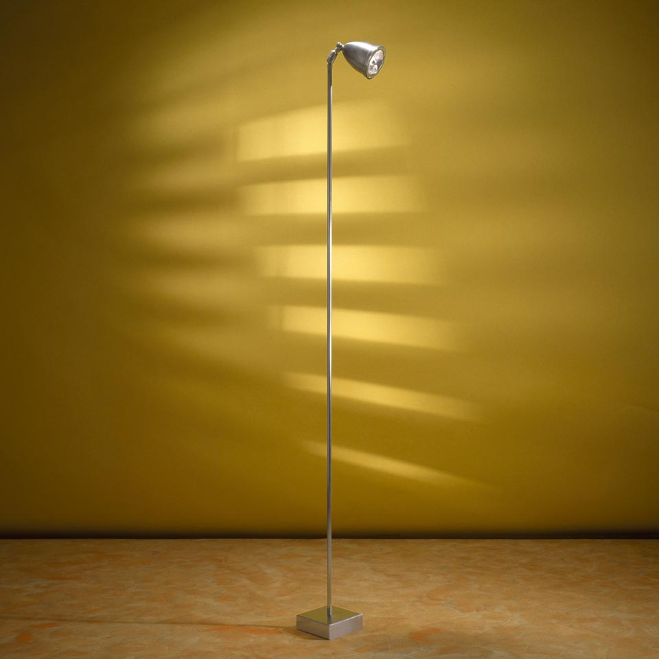 Lilley Floor lampadaire pied carré. Nautic by Tekna.