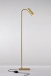 Marquesse lampadaire liseuse en métal doré mat. Nautic by Tekna.