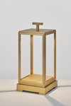 Minor lanterne d'extérieur ou d'intérieur sur batterie bronze vieilli. Nautic by Tekna.