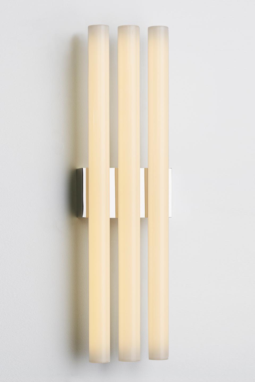 Phare triple applique grand modèle à éclairage LED. Nautic by Tekna.