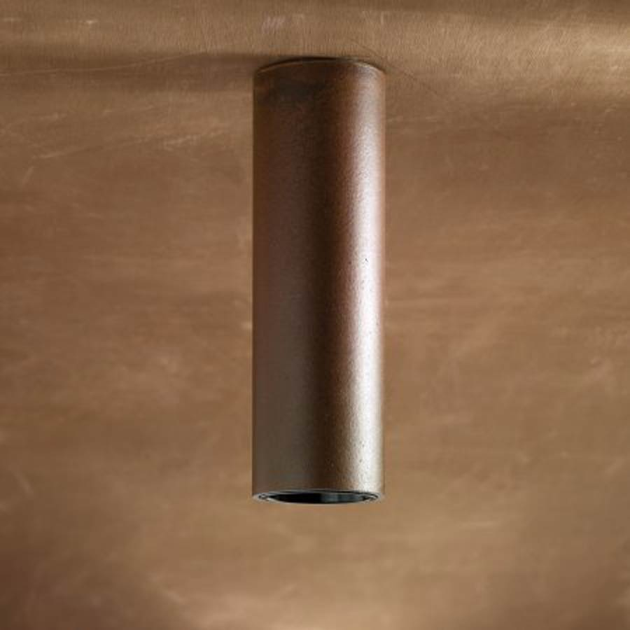 Plafonnier bronze Tube Ceiling. Nautic by Tekna.