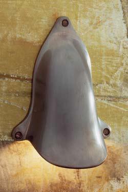 Shell light applique bronze antique. Nautic by Tekna.