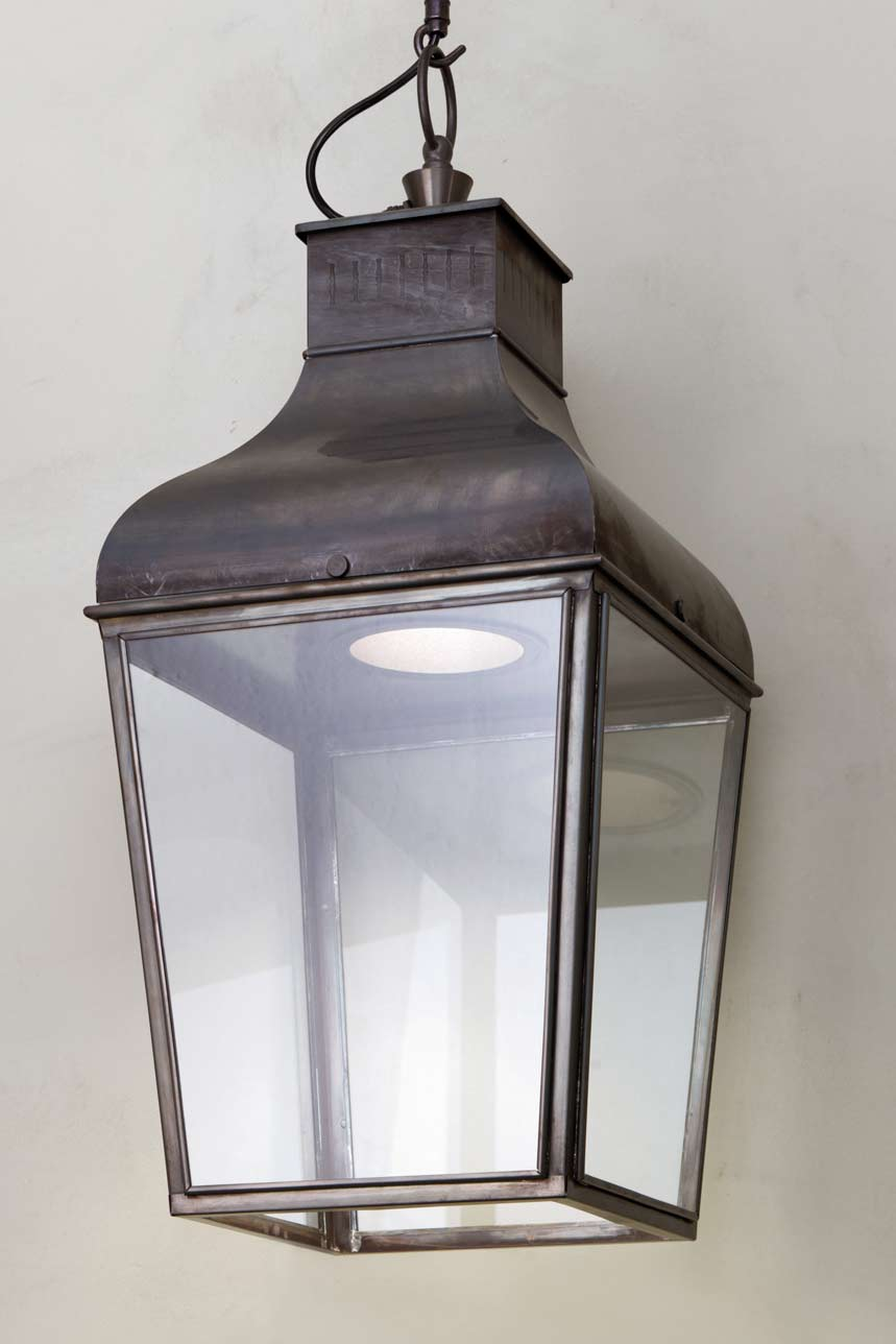 Suspension Pagode Bronze Montrose Pendant Led Nautic By