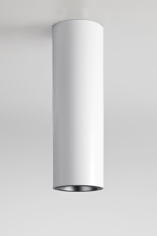 Tube ceiling plafonnier tube blanc. Nautic by Tekna.