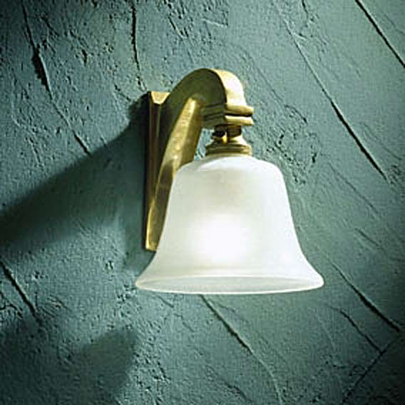 Bell Light 12V polished bronze. Nautic by Tekna.