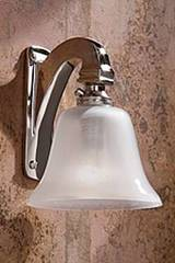 Bell Light 12V polished nickel-plated bronze. Nautic by Tekna.
