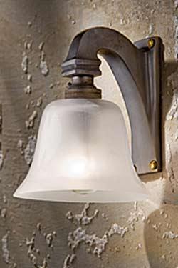 Bell Light 230V antique bronze. Nautic by Tekna.