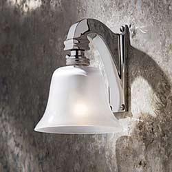 Bell Light 12V chrome-plated bronze. Nautic by Tekna.