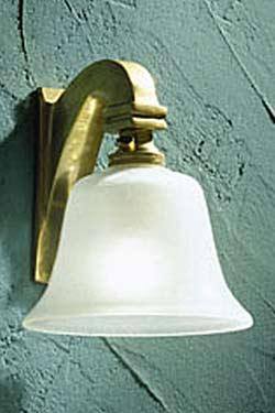 Bell Light 12V polished bronze. Nautic by Tekna.