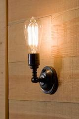 Thorne Pete antique bronze wall light. Nautic by Tekna.
