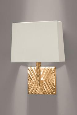 Applique dorée en bronze motif ethnique Togo. Objet insolite.