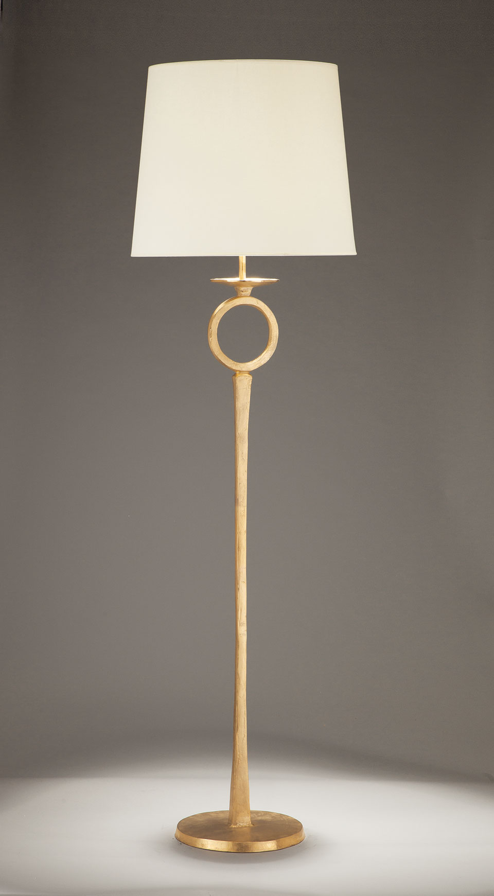 Image of: Gilded Solid Bronze Floor Lamp Diego Objet Insolite Hight Qualite Lighting Made In France Ref 17090392