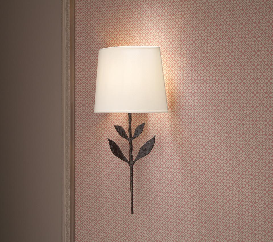 grande applique noire patin e silva objet insolite luminaires en bronze applique r f 17090303. Black Bedroom Furniture Sets. Home Design Ideas