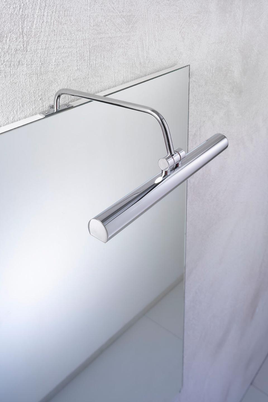applique pour miroir ou tableau 30cm chromee contemporain metal silver design eclairage 15100071R Résultat Supérieur 15 Superbe Applique Miroir Photographie 2017 Zat3