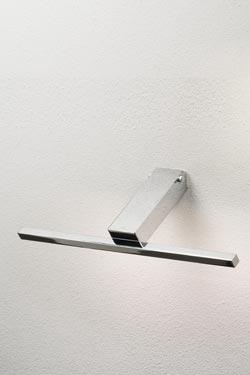 Applique pour tableau ou miroir à Led chromé 40cm. Oma Illuminazione.