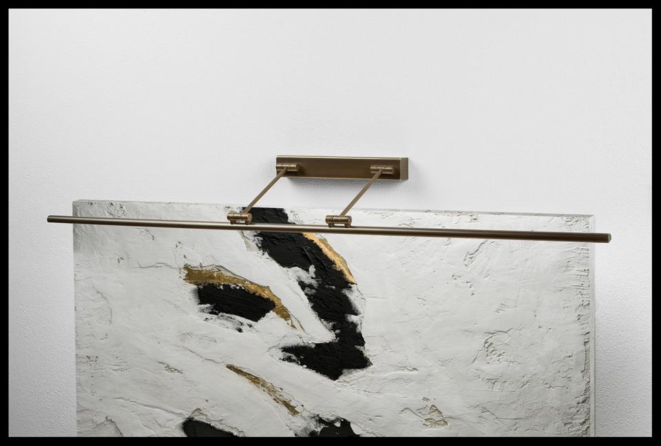 Grande applique pour tableau ou miroir à Led 120cm. Oma Illuminazione.