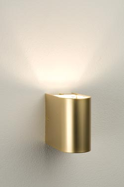 Petite applique or satiné 24 Carat . Oma Illuminazione.