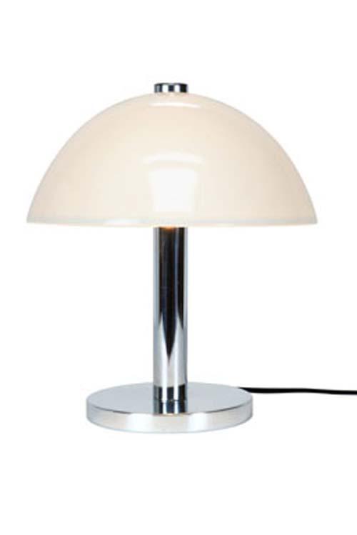 Cosmo lampe de bureau en porcelaine blanche. Original BTC.