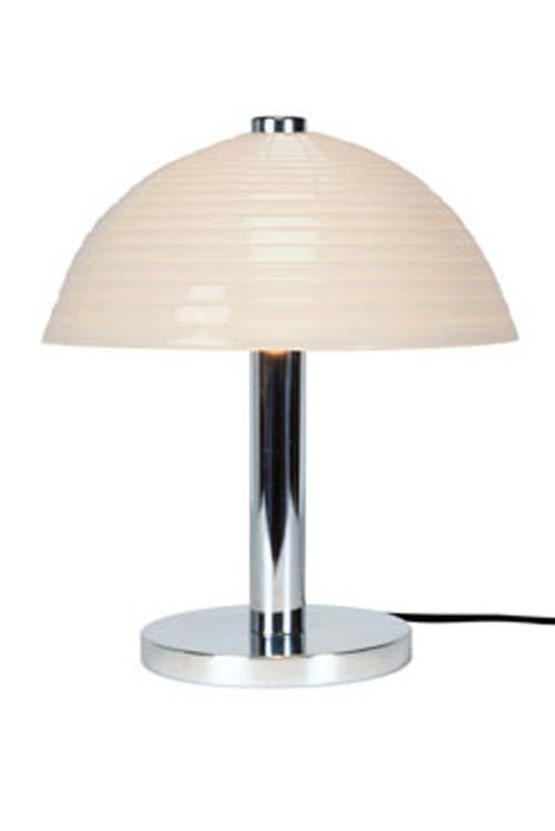 Cosmo Step lampe de bureau blanche en porcelaine. Original BTC.
