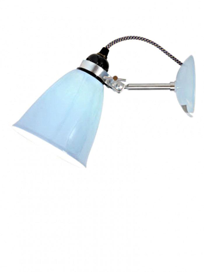 Hector applique verrerie moyenne bleue. Original BTC.
