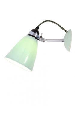 Hector applique verrerie moyenne verte. Original BTC.