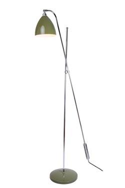 lampadaire style industriel vert olive task overreach par. Black Bedroom Furniture Sets. Home Design Ideas