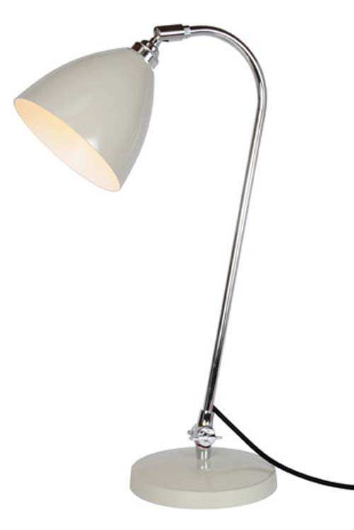 Lampe de bureau grise Task Solo . Original BTC.