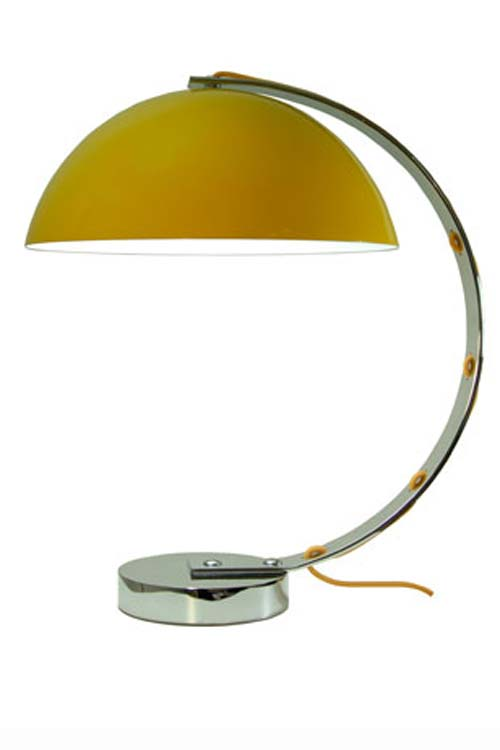 London lampe de bureau jaune. Original BTC.