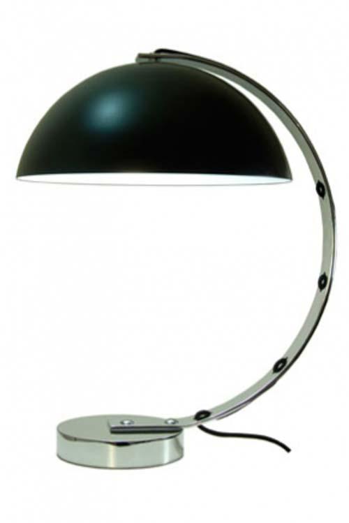 London lampe de bureau noire. Original BTC.