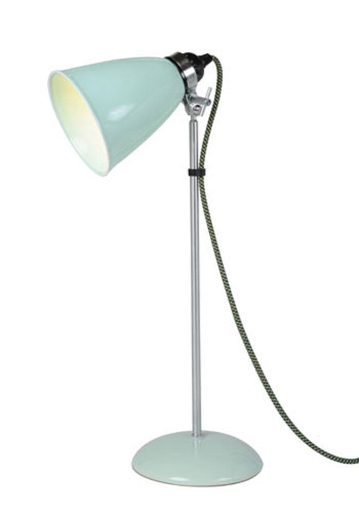 Hector lampe de table verrerie moyenne verte. Original BTC.