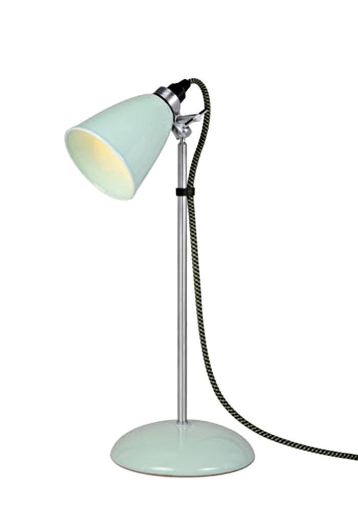 Hector lampe de table petite verrerie verte. Original BTC.