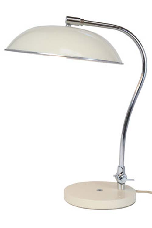 Hugo lampe de bureau crème. Original BTC.