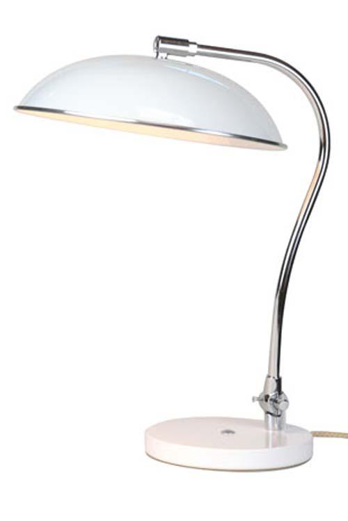 Hugo lampe de bureau blanche. Original BTC.