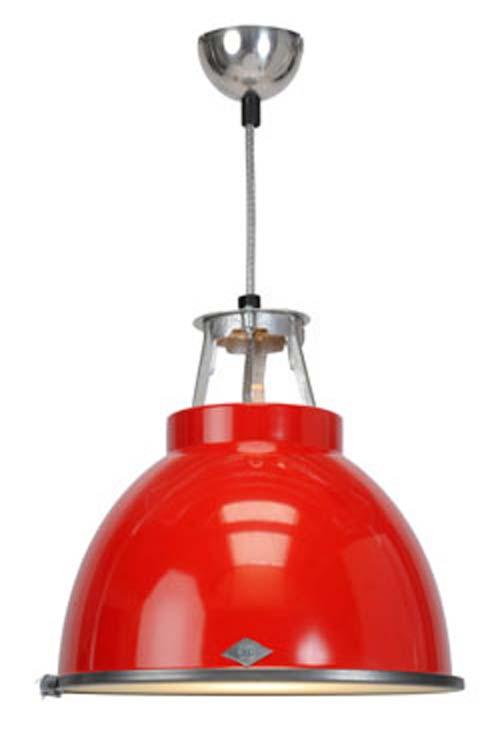 titan suspension rouge taille gm avec verre par original btc r f 11030123. Black Bedroom Furniture Sets. Home Design Ideas