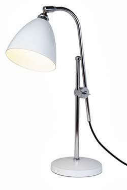Task lampe de bureau blanc. Original BTC.