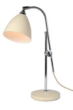 Task lampe de bureau crème. Original BTC.