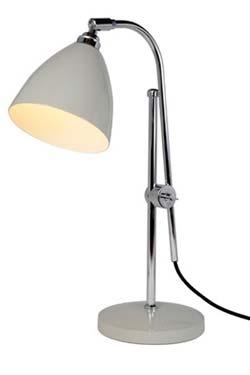 Task lampe de bureau gris. Original BTC.