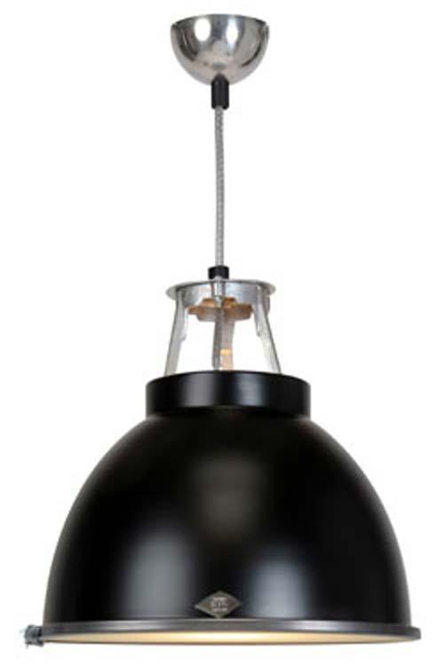 Titan suspension noire taille MM verre armé. Original BTC.