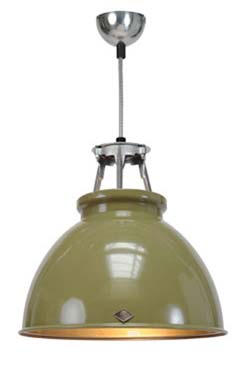 Titan suspension olive taille MM sans verre. Original BTC.