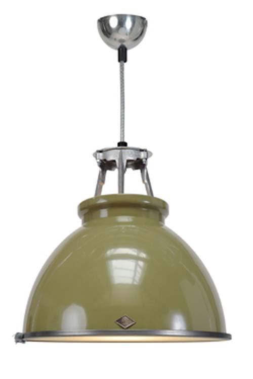 Titan suspension olive taille MM verre armé. Original BTC.