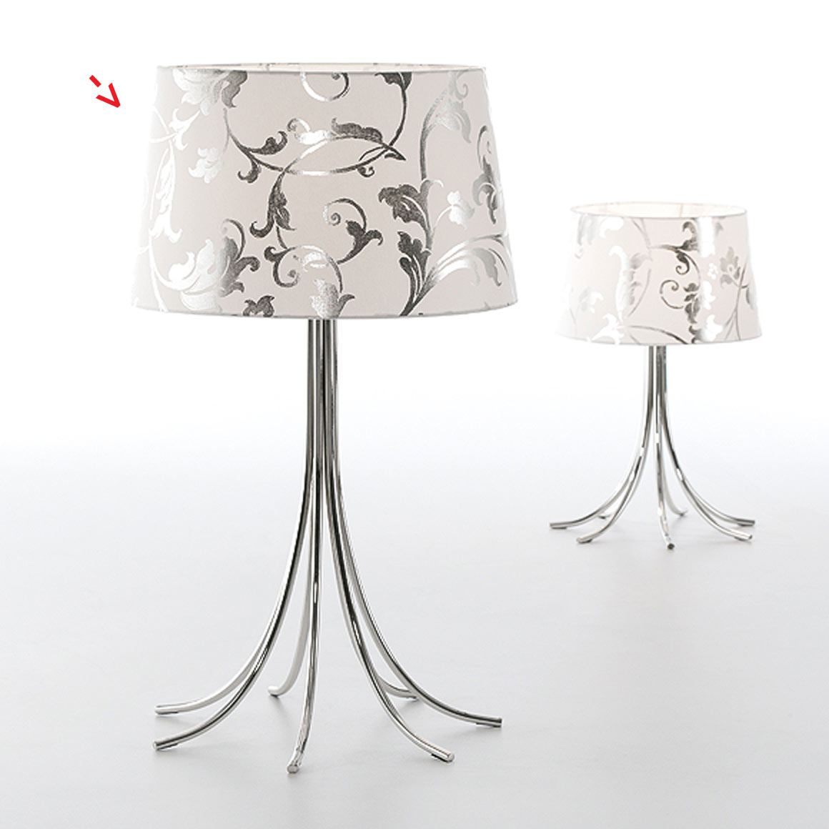 Camber Cromado baroque lampe GM. Paulo Coelho.