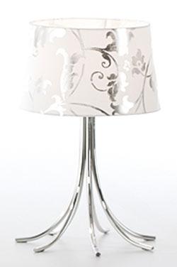 Camber Cromado baroque lampe PM. Paulo Coelho.