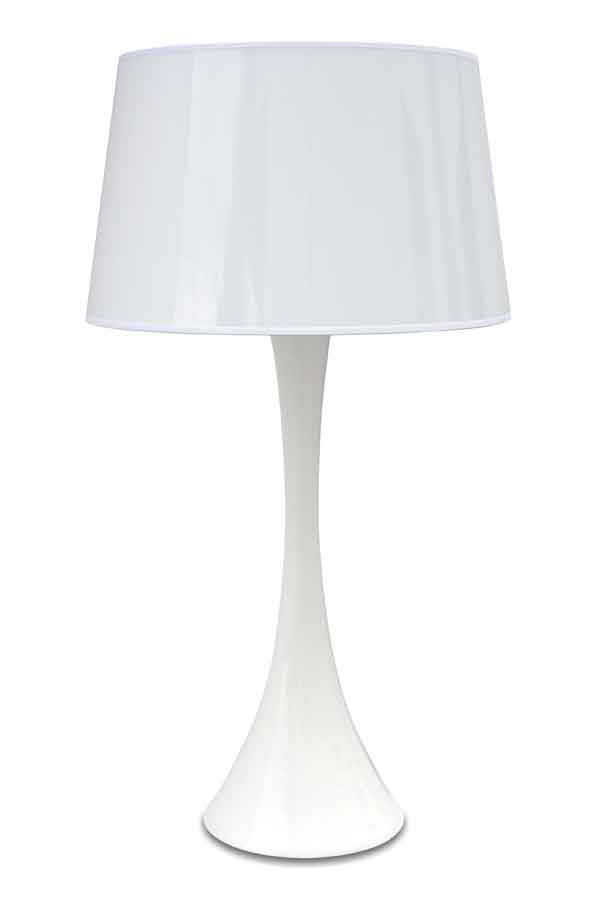 Conic Gloss Branco Lampe GM. Paulo Coelho.