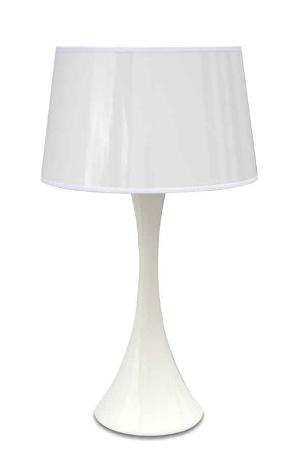 Conic Gloss Branco Lampe MM. Paulo Coelho.