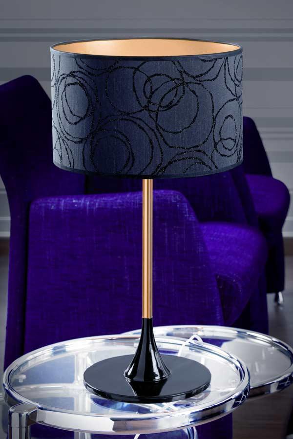 Delta Gloss Gold lampe MM. Paulo Coelho.