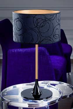 Delta Gloss Gold lampe PM. Paulo Coelho.