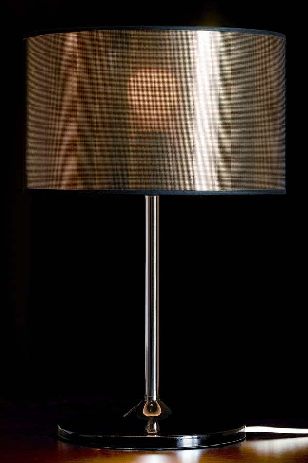 Disco Gloss Doré lampe GM. Paulo Coelho.
