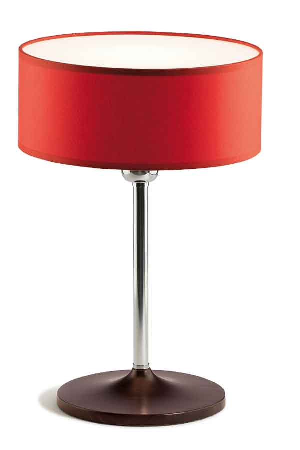 Disco Zen lampe Pm vermillon. Paulo Coelho.